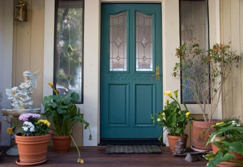 Feng shui en la puerta del hogar for Decoracion de la puerta de entrada
